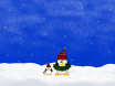tux christmas wallpaper